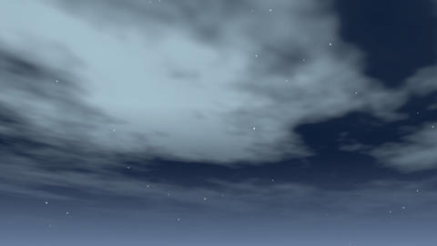 drifting clouds Animation