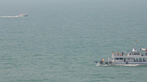 sea cruising Footage