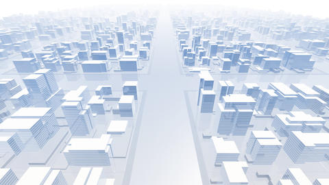 City Building B02B HD Stock Video Footage