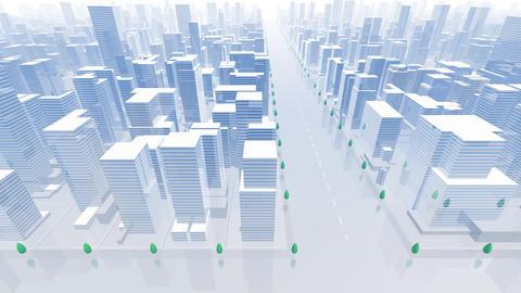 City Building B04B HD Stock Video Footage