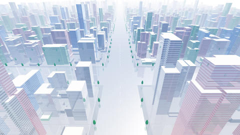 City Building BCL02B HD Animation