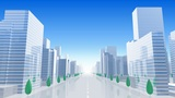 City Building BL01B HD stock footage
