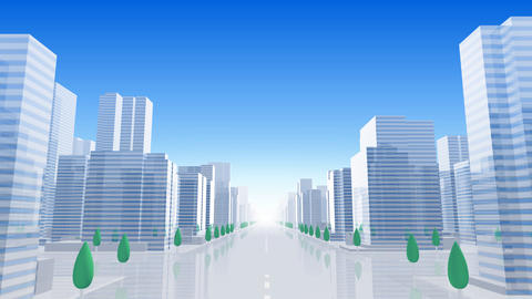 City Building BL01B HD Stock Video Footage