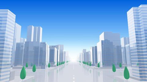City Building BL01B HD Stock Video Footage