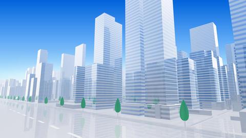 City Building BL03B HD Animation