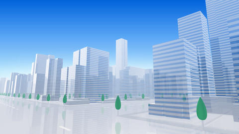 City Building BL03B HD Stock Video Footage