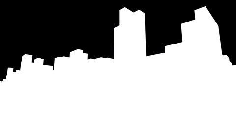City Building BL03B HD Stock Video Footage