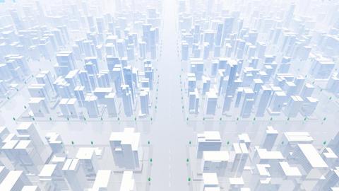 City Building BL05B HD Stock Video Footage