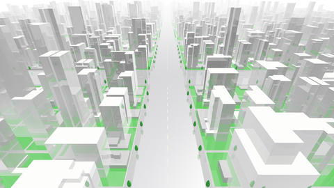 City Building G02W HD Animation