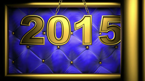 2015 blue Stock Video Footage