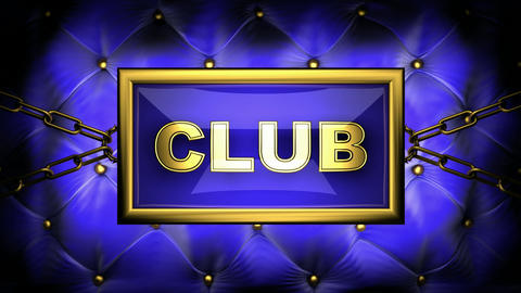 flashing monitor club, Stock Animation