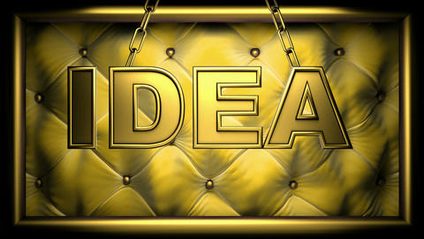 idea yellow Stock Video Footage