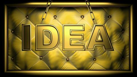 idea yellow Animation