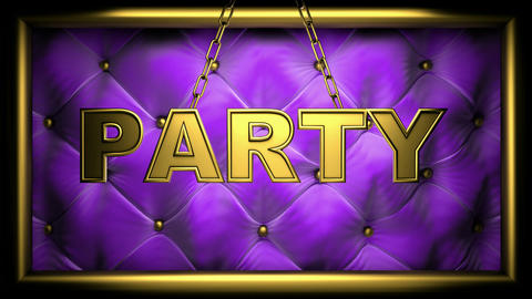 party purple Animation