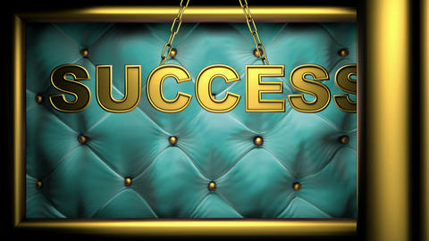 opening doors(success) Stock Video Footage