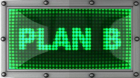 blinking lights(plan B) Animation