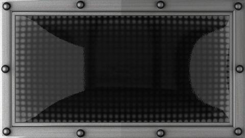 blinking lights(radio) Stock Video Footage
