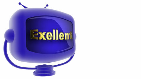 tv exellent blue Animation
