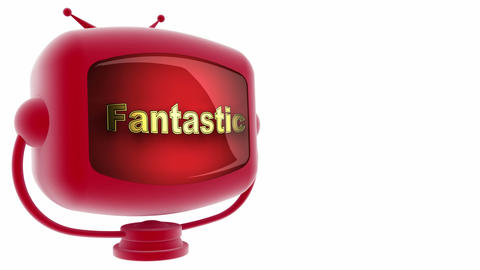 tv fantastic red Animation