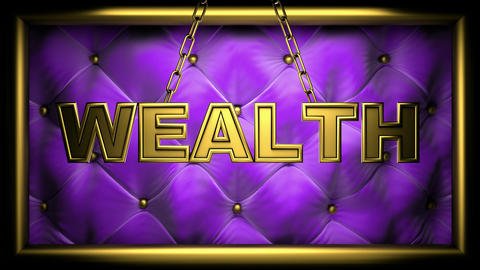 wealth purple Stock Video Footage
