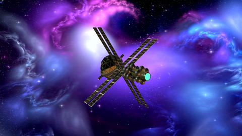 SPACE SHIP HD 10 Stock Video Footage