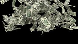 dollar trail Stock Video Footage