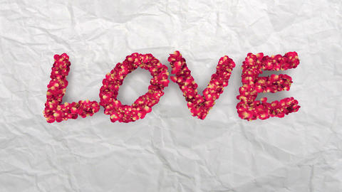 love flower Animation