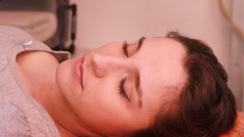 patient is sleeping Stock Video Footage