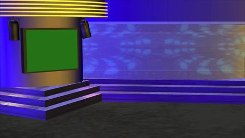 Virtual Studio 1 HD Stock Video Footage