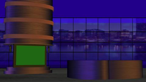 Virtual Studio 3 HD Stock Video Footage
