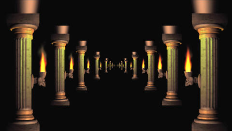 columns 8 Stock Video Footage