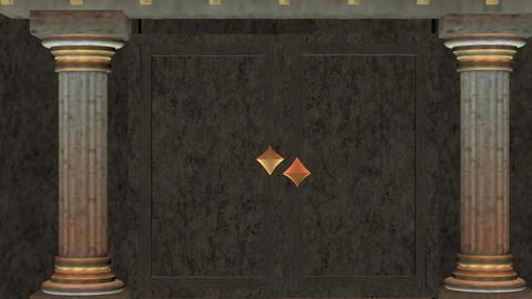 Door way 2 HD Stock Video Footage