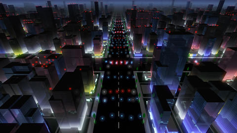 City Building NA02B HD Stock Video Footage