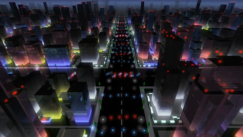 City Building NA02B HD Animation