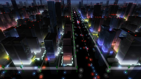 City Building NA04B HD Stock Video Footage