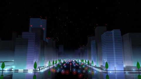 City Building NAC01B HD Stock Video Footage