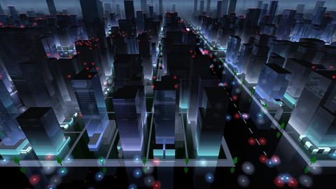 City Building NAC04B HD Animation
