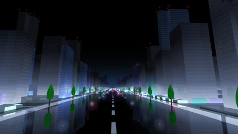 City Building NAC06B HD Stock Video Footage