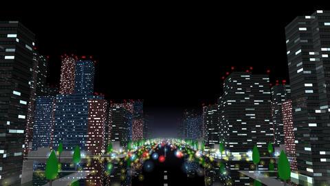 City Building NB01B HD Stock Video Footage