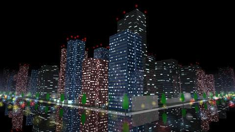 City Building NB03B HD Stock Video Footage