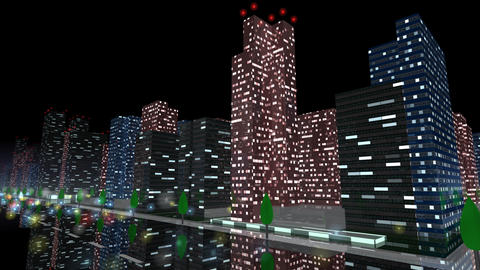 City Building NB03B HD Animation