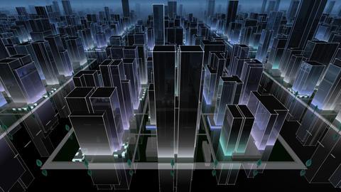 City Building NC04B HD Stock Video Footage