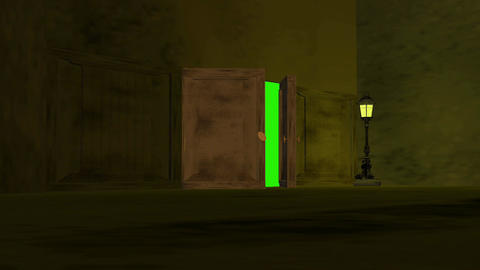 Door way 10 HD Animation