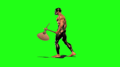 Axe man 2 Animation