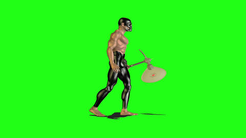 Axe man 4 Animation