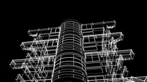 building sketch construction Animation