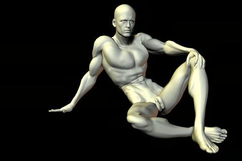 statue 27 obj 3D Model