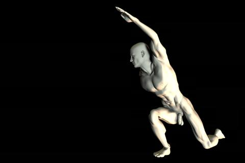 statue 29 obj 3D Model