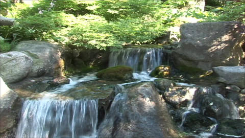 Waterfall 1 HD Stock Video Footage