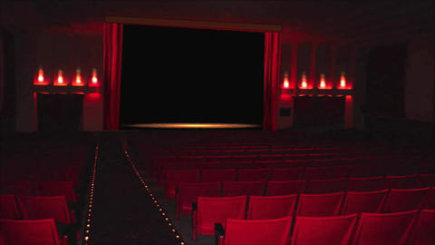 Theater HD 6 Stock Video Footage